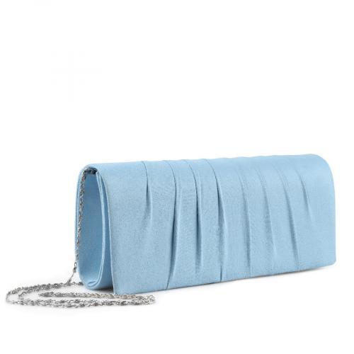 дамска  елегантна чанта синя 0136705