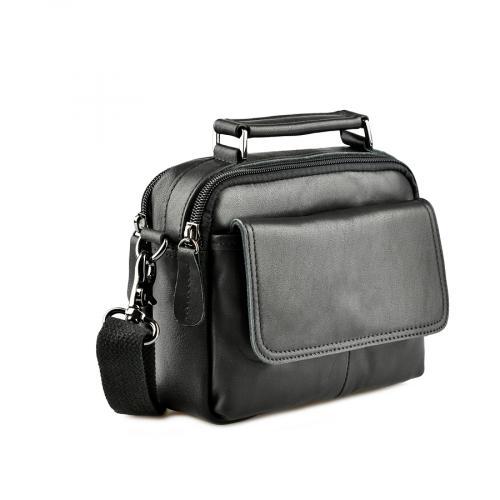 мъжка ежедневна чанта черна 0143847