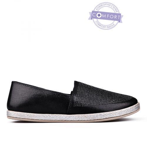 дамски ежедневни обувки черни 0142560