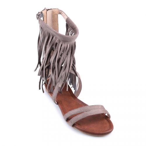 дамски ежедневни сандали бежови 0127867