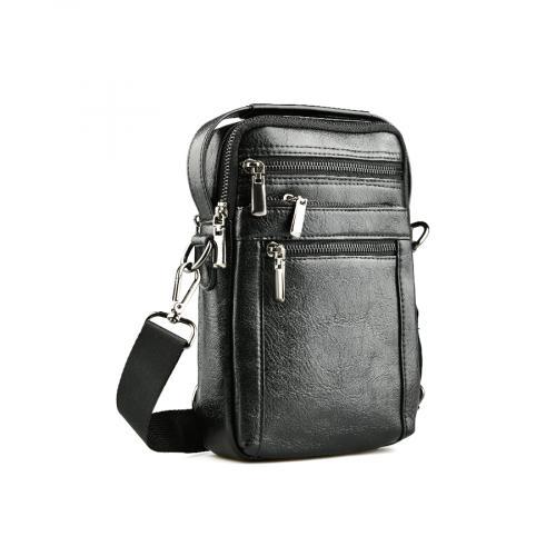 мъжка ежедневна чанта черна 0141603