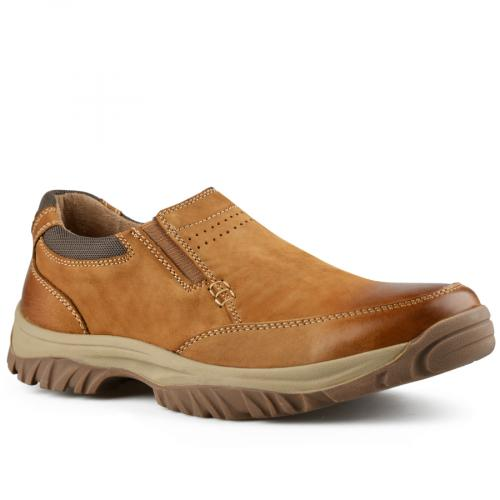 мъжки ежедневни обувки кафяви 0142110