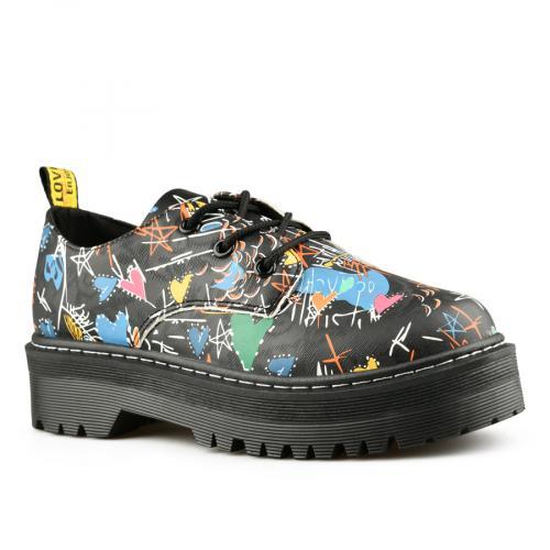 дамски ежедневни обувки черни 0141695