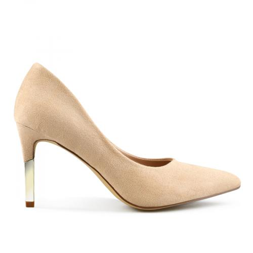 дамски елегантни обувки бежови 0142881