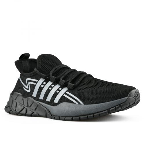 мъжки ежедневни обувки черни 0142802