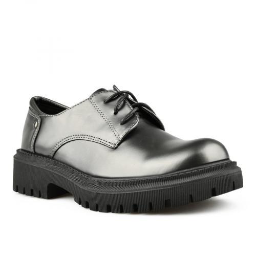 дамски ежедневни обувки сребристи 0144989