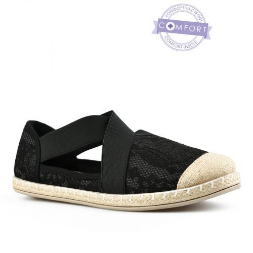 дамски ежедневни обувки черни 0142581