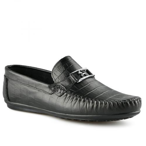 мъжки ежедневни обувки черни 0141263