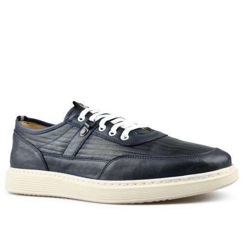 мъжки ежедневни обувки сини 0144245