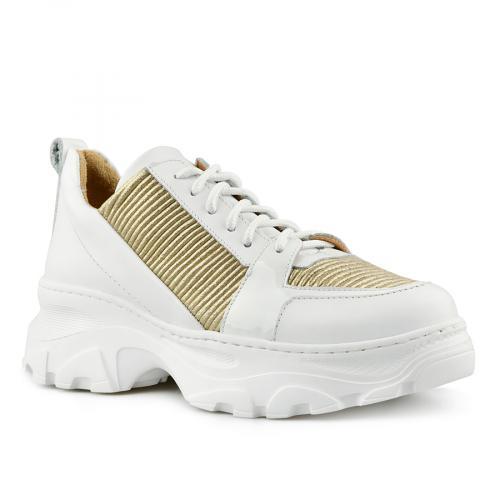 дамски ежедневни обувки бели 0141177