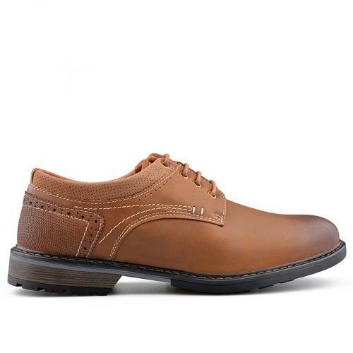 мъжки ежедневни обувки кафяви 0139074