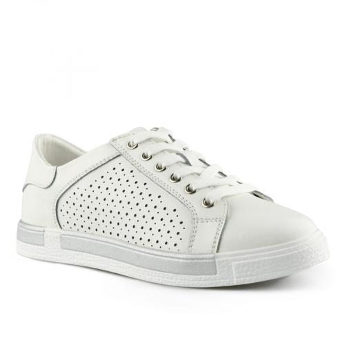 дамски ежедневни обувки бели 0139753