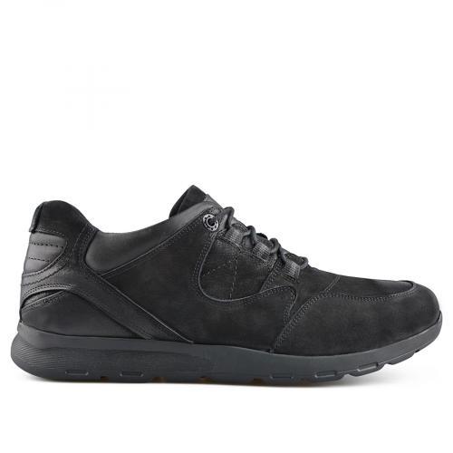 мъжки ежедневни обувки черни 0139496