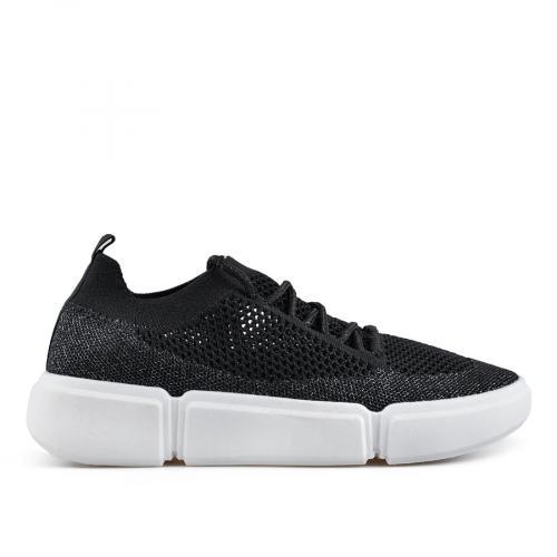 дамски ежедневни обувки черни 0136830