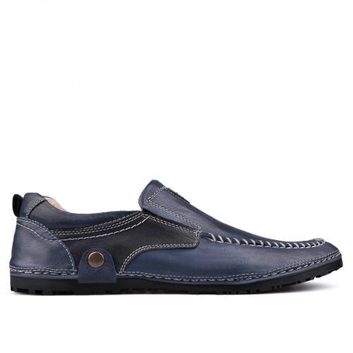 мъжки ежедневни обувки сини 0130992
