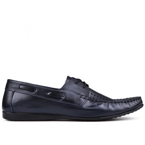 мъжки ежедневни обувки сини 0132032