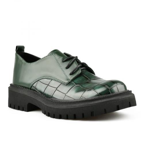 дамски ежедневни обувки зелени 0144986