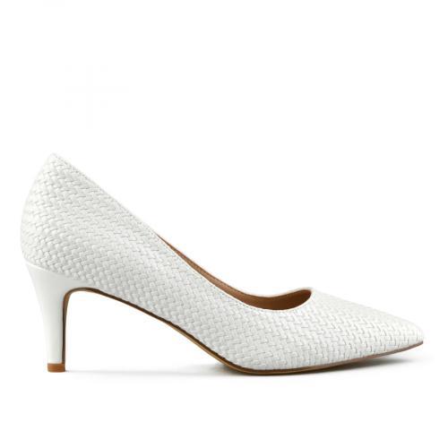 дамски елегантни обувки бели 0142870