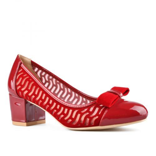 дамски елегантни обувки червени 0143302
