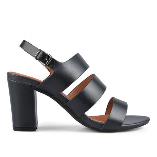 дамски елегантни сандали черни 0137645