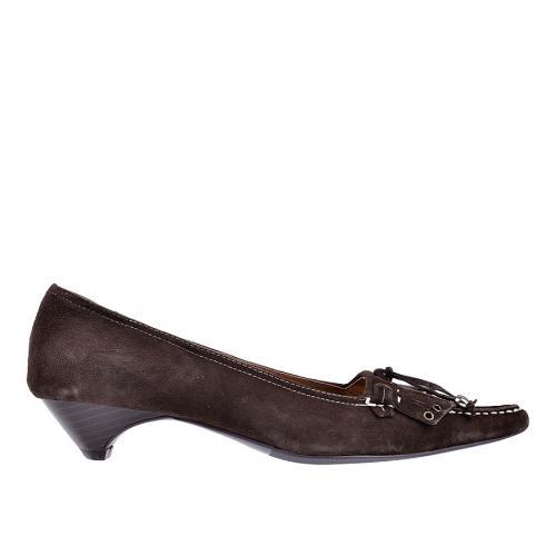 дамски ежедневни обувки кафяви 0101431