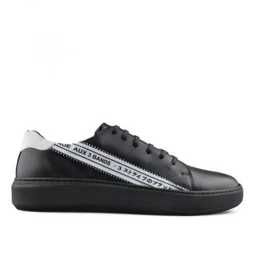 мъжки ежедневни обувки черни 0139443