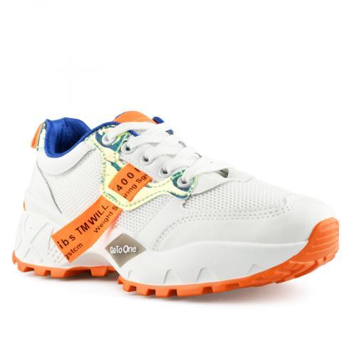 дамски ежедневни обувки бели 0140311