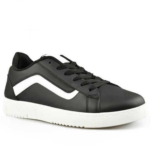 мъжки ежедневни обувки черни 0142044