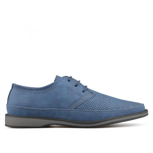 мъжки ежедневни обувки сини 0136980
