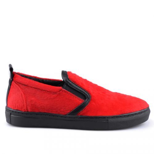 дамски ежедневни обувки червени 0126064