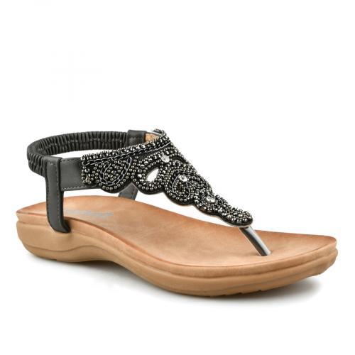 дамски ежедневни сандали сиви 0140793