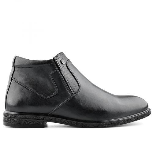 мъжки елегантни боти черни 0139523