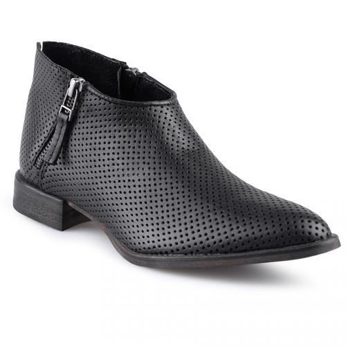 дамски ежедневни обувки черни 0127565
