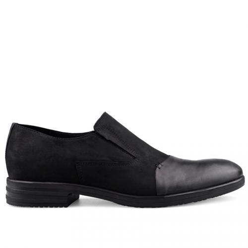 мъжки елегантни обувки черни 0126046