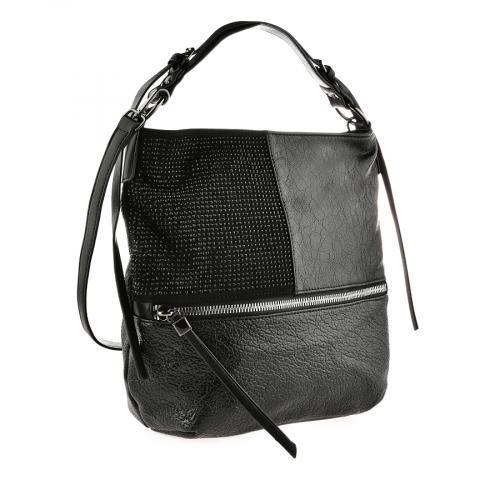 дамска ежедневна чанта черна 0141079