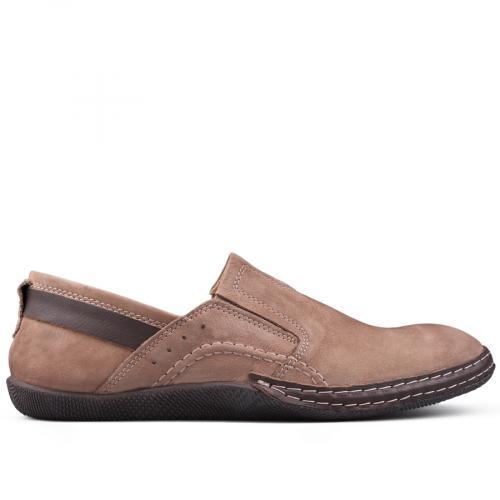 мъжки ежедневни обувки кафяви 0131015