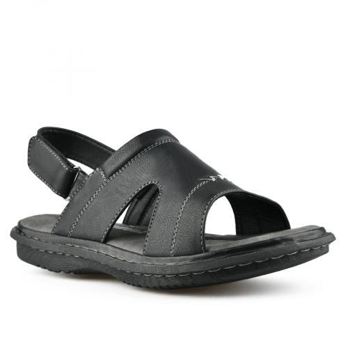 мъжки ежедневни сандали черни 0143311