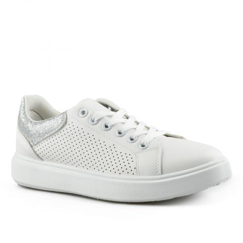 дамски ежедневни обувки бели 0142696