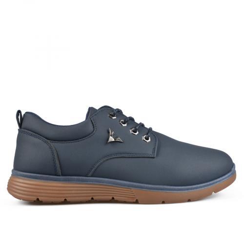мъжки ежедневни обувки сини 0135487