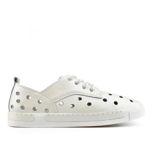 дамски ежедневни обувки бели 0137186