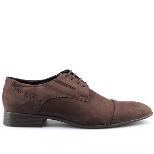мъжки елегантни обувки кафяви 0124499