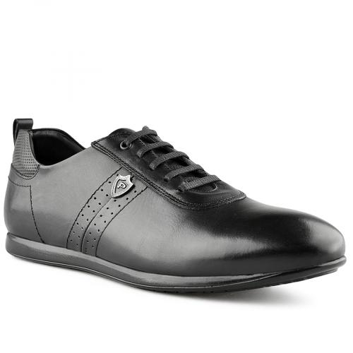 мъжки ежедневни обувки черни 0141210