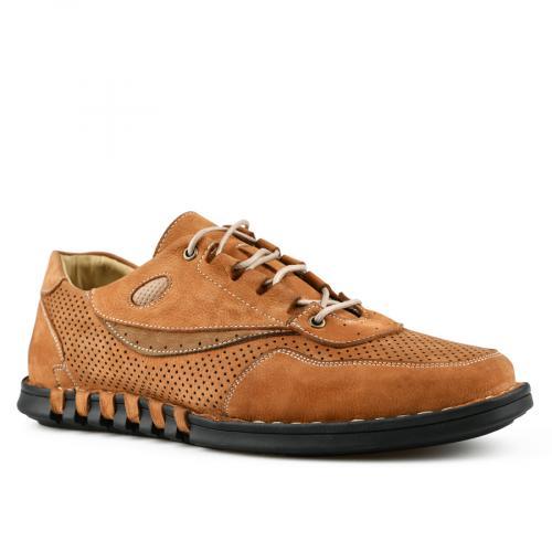 мъжки ежедневни обувки кафяви 0144266