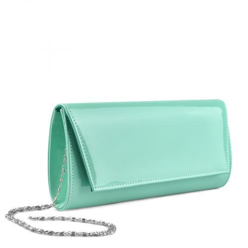 дамска  елегантна чанта зелена 0136715