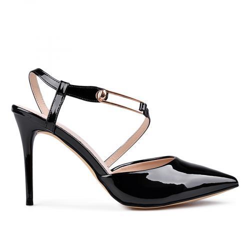 дамски елегантни сандали черни 0133672