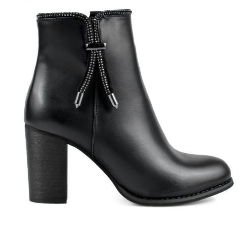 дамски елегантни боти черни 0136072