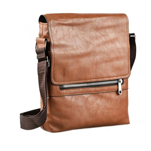 мъжка ежедневна чанта кафява 0143888