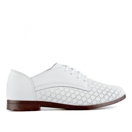 дамски ежедневни обувки бели 0137206