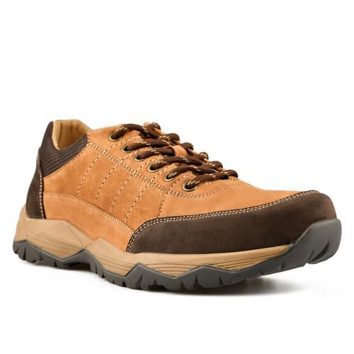мъжки ежедневни обувки кафяви 0144905