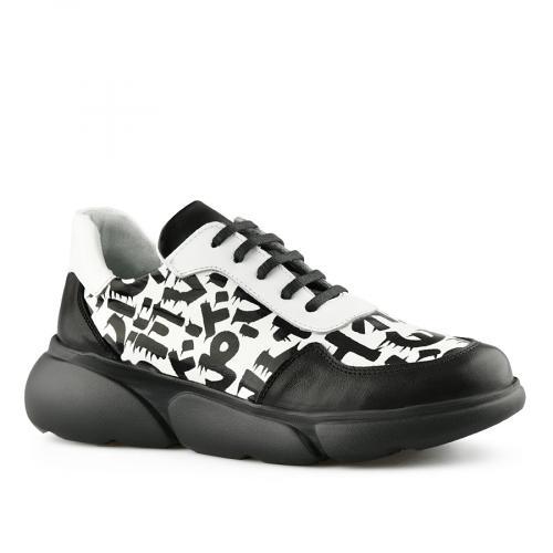 дамски ежедневни обувки бели 0141180